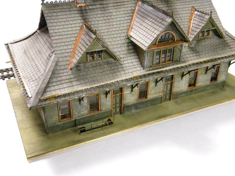 Top Far View of Model with white color effect